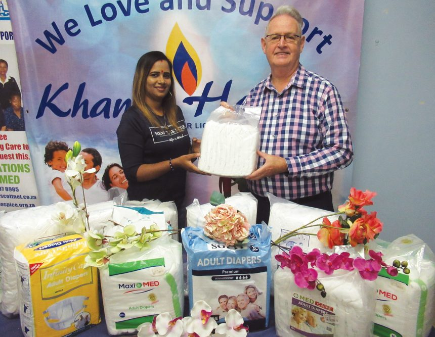 Local woman helps Khanya Hospice